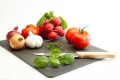 Ingrediënten voor het koken Stock Afbeelding