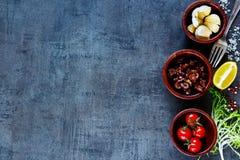 Ingrediënten voor het koken royalty-vrije stock foto's