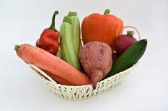 Ingrediënten voor het maken van salade Royalty-vrije Stock Fotografie