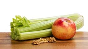 Ingrediënten voor waldorfsalade Stock Afbeelding