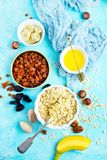 Ingrediants for breakfast royalty free stock images