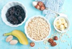 Ingrediants for breakfast stock photo