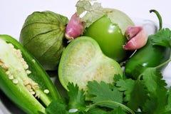 ingrediants salsa verde Στοκ εικόνες με δικαίωμα ελεύθερης χρήσης