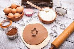 Ingrediens för att laga mat arkivbild