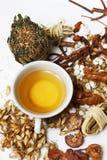 Ingredienser för asiatisk stärkande drink Royaltyfri Fotografi