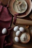 Ingredienser för att laga mat, Royaltyfria Foton