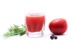 Ingredienser för framställning av tomaten Royaltyfri Fotografi