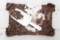 Ingredienser för hancrafted choklad Arkivfoto
