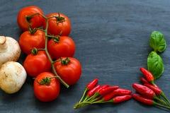Ingredienser för matlagning Royaltyfria Bilder
