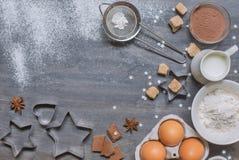 Ingredienser för matlagning Royaltyfri Foto
