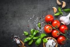 Ingredienser för matlagning fotografering för bildbyråer