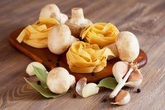 Ingredienser för pasta Royaltyfri Fotografi