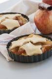 Ingredienser för stekhet äppelpaj Royaltyfri Bild
