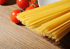 ingrediensitalienarepasta Royaltyfri Bild