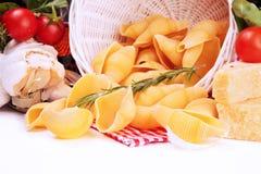 ingrediensitalienarepasta Royaltyfria Bilder