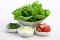 ingredienssmörgås Arkivbild