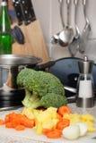 ingredienssoup Royaltyfri Fotografi