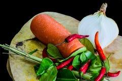Ingredient of Asia food Royalty Free Stock Image