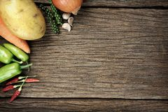 Ingredient background Stock Images