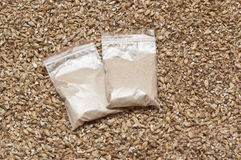 Ingredient for beer. Yeast and malt an ingredient for beer Royalty Free Stock Photos