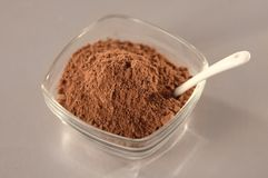 Ingredient of cinnamon powder Stock Photography