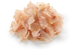 Katsuobushi shavings Royalty Free Stock Image