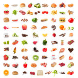 Ingredient food collage Stock Photo