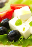 Ingredient for greek salad Royalty Free Stock Photography