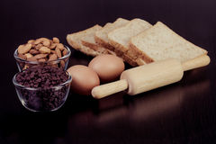 Ingredient for make bakery Royalty Free Stock Photo