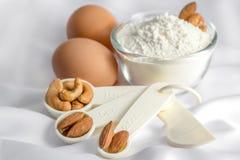 Ingredient for make bakery Stock Photos