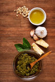 Ingredient for pesto Stock Images