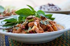 ingredient piece pork spicy Royaltyfria Foton