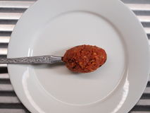 Ingredient - Red curry paste Royalty Free Stock Images