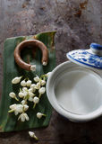 Ingredient for thai dessert. Stock Image