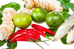 Ingredient for thai food Stock Photo