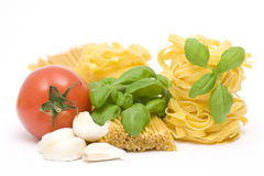 Ingredient to make pasta Stock Image