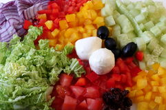 Ingrediente da salada Imagem de Stock Royalty Free