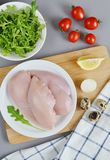 Ingrediente da salada de frango Imagem de Stock