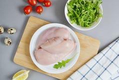Ingrediente da salada de frango Foto de Stock Royalty Free
