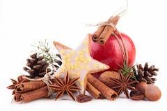 Ingrediente de la Navidad Fotos de archivo