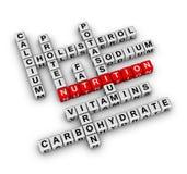 Ingrediente de la nutrición Imágenes de archivo libres de regalías