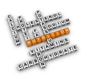 Ingrediente de la nutrición Imagen de archivo