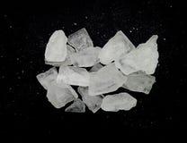 Ingrediente de Sugar Giant Pieces Natural Sweet Foto de archivo