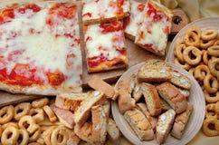 Ingrediente della composizione in cousine dell'alimento per mangiare Immagine Stock Libera da Diritti