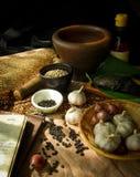 Ingrediente di alimento tailandese Immagini Stock