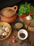 Ingrediente di alimento tailandese Fotografia Stock Libera da Diritti