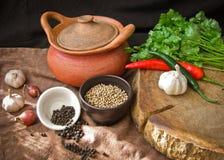 Ingrediente di alimento tailandese Immagine Stock