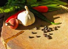 Ingrediente di alimento tailandese Fotografie Stock Libere da Diritti