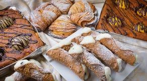 Ingrediente dolce della composizione in cousine dell'alimento per mangiare Fotografia Stock Libera da Diritti