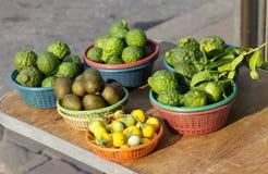 Ingrediente dos vegetais crus Fotografia de Stock